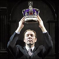 Kevin Spacey as Richard II