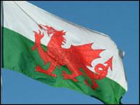 Draig Goch / Welsh flag