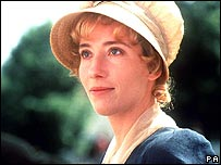 Emma Thompson in Sense and Sensibility