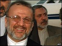 Iranian Foreign Minister Manouchehr Mottaki