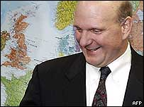 Microsoft chief executive Steve Ballmer