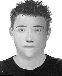 E-fit of suspect in Sally Anne Bowman murder case