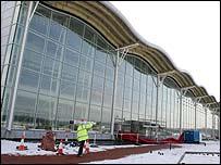 Robin Hood Airport terminal