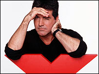 Simon Cowell in X Factor