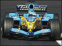 Giancarlo Fisichella's Renault