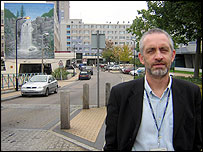 Paul Dennehy at the Broadwater Farm Estate