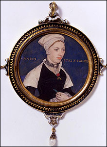 Portrait of Mrs Jane Small, Hans Holbein, V&A Images/Victoria and Albert Museum