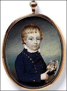 Portrait of an Unknown Boy, Charles Hayter, V&A Images/Victoria and Albert Museum