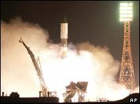 Progress launch on top of a Soyuz rocket (AP)