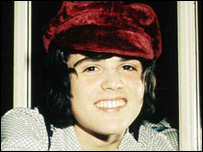 Donny Osmond in the 1970s