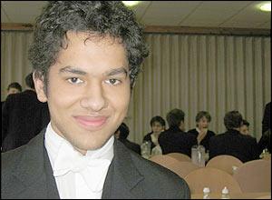Eton pupil Saif Hameed