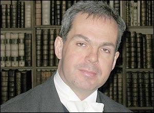 Eton history teacher Andrew Robinson