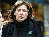 Mary Wragg arriving at court