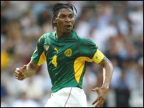Cameroon captain Rigobert Song