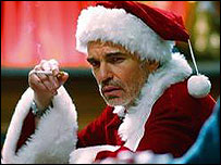 Actor Billy Bob Thornton in the film Bad Santa