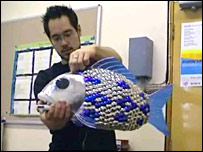 Robotic fish (Essex University)