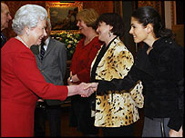 Katie Melua meets the Queen