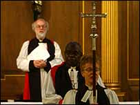 Dr John Sentamu is confirmed as the Archbishop of York