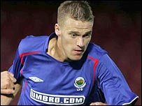Linfield's Peter Thompson