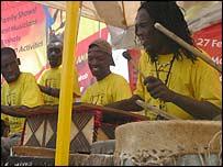 Drummers in Kenya