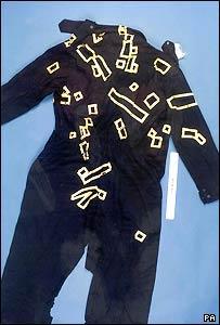 Pc Blakelock's overalls