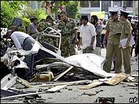 Colombo explosion