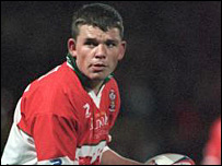 Wales captain Lee Briers