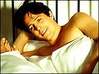 Hugh Grant, pictured in the film Notting Hill