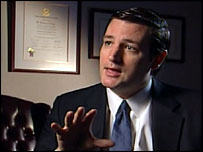 Texas Solicitor General Ted Cruz
