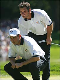 Paul Casey and David Howell 