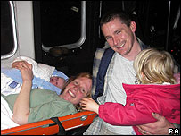 Rachel Holliday, Glenn Cato and family