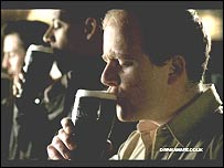 Still from Guinness advert