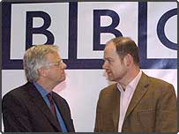 BBC Chairman Michael Grade with Director General Mark Thompson