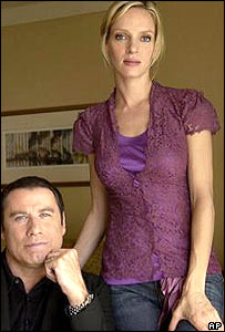 John Travolta and Uma Thurman