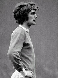 A young George Best earned the nickname El Beatle
