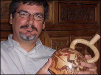 Archaeologist Luis Jaime Castillo (BBC)