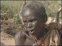 A southern Sudanese woman