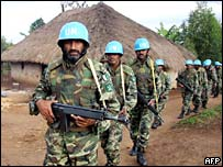 Pakistani UN peacekeepers in DR Congo's Ituri region