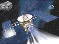 Artist's impression of Hayabusa