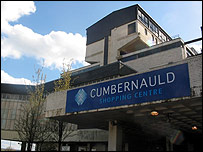 Cumbernauld shopping centre. Picture by Paul McGarry