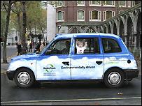 A Radio Taxis cab