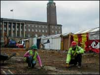 Norwich market dig
