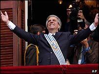 Uruguayan President Tabare Vasquez
