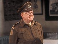 Arthur Lowe as Captain George Mainwaring in Dad's Army