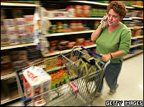 Wal-Mart shopper