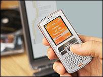 Sony Ericsson's W800 Walkman phone