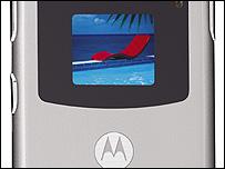 Motorola's Razr V3 phone