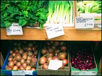 Vegetables, BBC