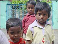 Children in Nagappattinam