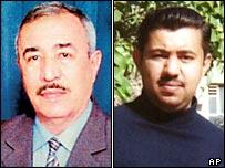 Judge Barwiz Mahmoud Marwani (left) and his son Aryan Barwiz Marwani, a lawyer